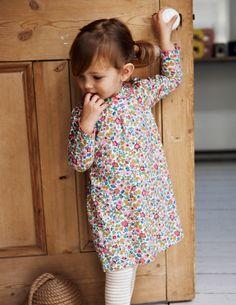 Pretty Jersey Dress - floral | Boden