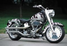 Harley Davidson Fatboy. I'll always love a Harley no matter what my hubby says.