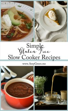 Simple Gluten Free Slow Cooker Recipes