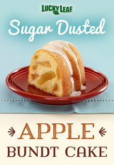 Enjoy a slice of this delicious apple bundt cake as a snack or a dessert; try it with a scoop of ice cream!