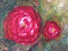 Check out Aase Birkhaug, Autumn Rose D or III  (2015), From Art Screen TV Autumn Rose, Artsy, Greeting Cards, Watercolor, Wall Art, Artwork, Roses, Painting, Tv