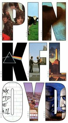 "Pink Floyd - Though typically labelled ""Progressive Rock"", this important band has contributed a lot to Ambient Rock, specially on records like ""Meddle"", ""Wish You Were Here"" and ""The Dark Side of the Moon. Music Love, Music Is Life, Good Music, My Music, Pop Rock, Rock N Roll, Imagenes Pink Floyd, The Beatles, Concert Posters"