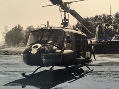 This is a photo my father took of the #Huey helicopter he flew in #Vietnam.  It's hard to even imagine the man that raised me as the young kid on the other side of the world risking his life day after day getting shot down more than once and living to tell about it - and living to raise an incredible family which is the only reason I'm here today.  It's something you should practice every day but if nothing else today is the day to honor and give thanks to all who have served to protect our…