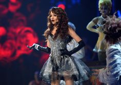 Singer Leslie Grace performs onstage during the 14th Annual Latin GRAMMY Awards held at the Mandalay Bay Events Center on November 21, 2013 ...