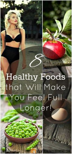 You don't have to starve and skip meals in order to loose weight. It will be enough if instead of ice cream, chocolate and soda to eat healthy foods that will make you feel full and satisfied after just a few bites...