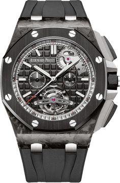 La Cote des Montres : La montre Audemars Piguet Tourbillon Chronographe Royal Oak Offshore Automatique - Une montre de sport de luxe pratiquement indestructible