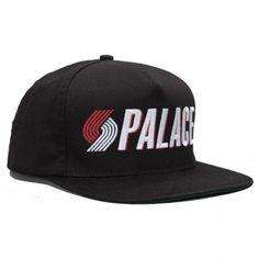 Palace Blazers black snapback cap.