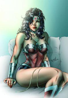 Wonder Woman by David Lima, colors by Sambas Suryadi