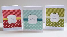Today I have a super easy, super cute card set to share: Have I mentioned lately how much I love Echo Park's Dots and Stripes collections? The patterns are so easy to work with. And not only do the...