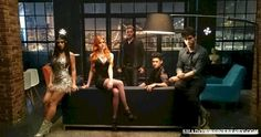 The very first cast picture in costume. For more shadowhunters pins check out the shadowhunters board ^^