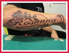 Tattoo Designs With Names For Men 8