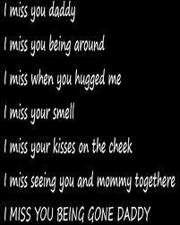 Missing my daddy