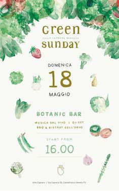 graphic design - Federica Marziale Illustrations - Eleonora Cargnel /Santi event/