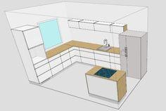 Valontalo: Kitchen Scandinavian Home, Decorating Blogs, Loft, Interior Design, Bed, Kitchen, Furniture, Home Decor, Nest Design