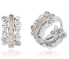 Clogau Earrings Am Byth Silver | C W Sellors Fine Jewellery and Luxury Watches