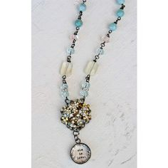 I am in love with this necklace!