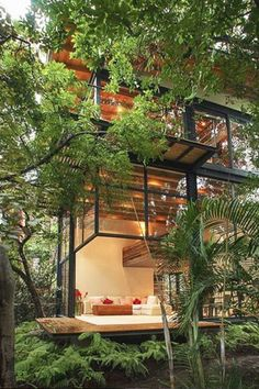 Glass House - 20 Treehouses From Insta We're Obsessed With - Photos