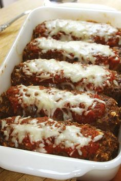 Mini meatloaf with oatmeal has