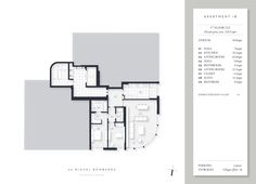 Apartment More info at: Apartments, Floor Plans, House Floor Plans, Penthouses, Flats