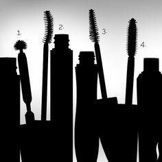 Pop quiz! How many mascara wands can you identify? #Sephora