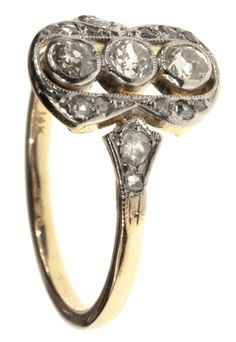 This antique wedding ring is so me.