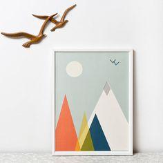 Mountain Print from notonthehighstreet.com
