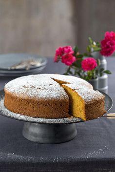 Kürbiskuchen - Rezept - [EINFACH HAUSGEMACHT] Easy Homemade Recipes, Homemade Desserts, Easy Cake Recipes, My Recipes, Pumpkin Bars, Pie Dessert, Snacks, Toffee, Vanilla Cake