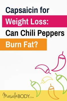 This main compound in chilies incinerates fat! Learn more about capsaicin for weight loss, how much you need for maximum fat-burn and how to easily add it to your food and drinks (+ list of 10 mild to spicy peppers included). Weight Loss Plans, Easy Weight Loss, Healthy Weight Loss, Lose Weight, Cayenne Pepper Recipes, Stop Sugar Cravings, Anti Inflammatory Diet, Sugar Detox, Fat Burning Foods