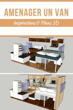 bed in width van design - nice layout Mercedes Maybach, Mercedes Sprinter, Mercedes Benz Suv, Sprinter Van, Van Conversion Paneling, Van Conversion Interior, Van Interior, Camper Interior, Diy Camper