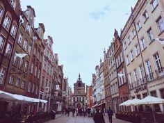 Gdansk, Polen. Street View, Travel, Voyage, Viajes, Traveling, Trips, Tourism