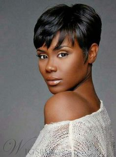 Stylish Unique Top Quality African American Hairstyle Short Straight Black Glueless Full Lace Wig 100% Human Hair