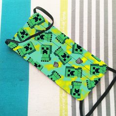 Custom Creeper Minecraft Face Mask | Protective Face Mask | Washable & Reusable | Double Layer Mask | Comfortable | FAST SHIPPING Minecraft Face, Creeper Minecraft, Nose Shapes, Creepers, Birthday, Handmade Gifts, Etsy, Vintage, Nuthatches