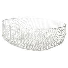 Shop Bend Goods at AllModern for a modern selection and the best prices. Dog Toy Storage, Wire Storage, Bend Chair, Bend Goods, African Market, Steel Detail, Macrame Plant Holder, Metal Baskets, Market Baskets