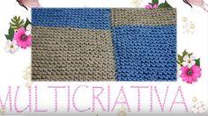Aprenda a tricotar uma manta, unindo os quadrados enquanto tricota, sem costuras. Minha sugestão de fio, é o Mollet, que êu sempre compro aqui: http://www.ba...