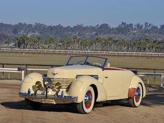 1937 Cord 812 SC Phaeton