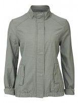 'Henrietta' Slub Jacket