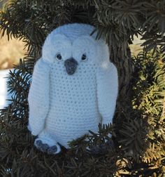 Great Snowy Owl Crochet Pattern - Inner Child Crochet