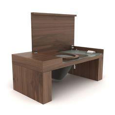 Villeroy & Boch A270 00BI City Life Smart Bench Toilet 47-1/4in. x ...