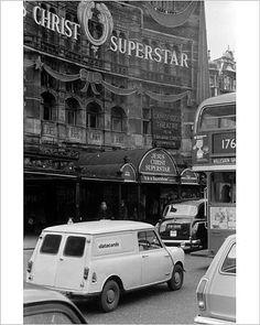 Photo Mug-Soho, London - Palace Theatre, Shaftesbury Avenue-Ceramic dishwasher safe mug made in the UK