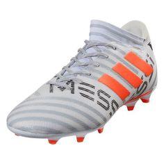 best sneakers 323b0 b324b adidas Nemeziz Messi 17.3 FG (White Solar Orange). Soccer CleatsMessiSolarSoccer  ...