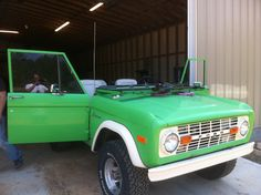 The Bronco was introduced in 1966 as a competitor to the small four-wheel-drive compact SUVs that included the Jeep CJ-5 and International Harvester Scout, and it was built on its own platform