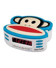 Loving this Paul Frank Alarm Clock Radio on #zulily! #zulilyfinds