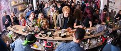 Top bartenders from around the world met in London to build bars from scratch