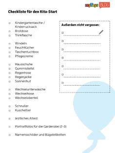 Checklisten zur Einschulung und zum Kita-Start | myToys-Blog