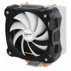 Arctic Cooling Freezer Superior Cooling Perfomance An interchangeable 120 mm PWM fan in combination with 4 direct touch heatpipes and a heatsink enable the Freezer to deliver outstanding cooling performance and improve heat dissipation from the CPU. Computer Parts And Components, Pc Components, Central Processing Unit, Desktop, Shops, Noise Levels, Hardware Software, Computer Accessories, Freezer