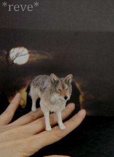 Miniature Animal Sculptures by Reve