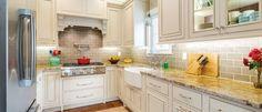 Allentown inset door style in Maple finished in Macadamia with Latte glaze starmark Masterbrand Cabinets, Kitchen Storage, Kitchen Cabinets, Cabinet, Grey Kitchen, Kitchen Remodel, House Plans, Cabinetry, Kitchen