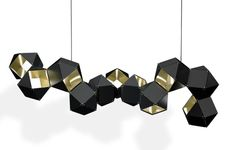 Available Finishes: Exterior: Blackened Steel Interior: Satin Brass, Polished Copper, Polished Nickel