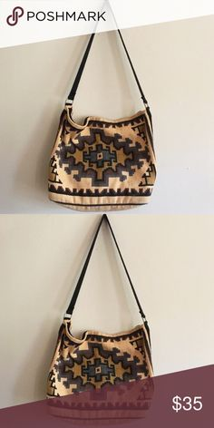 70's vintage western tote bag Big size! can fit laptop/school books. in perfect condition. not free people--just for exposure. Free People Bags