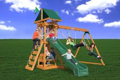 Gorilla Playset Cedar Safari Swing Set, Price: $849.00  (Current Special Price of $799.00!)